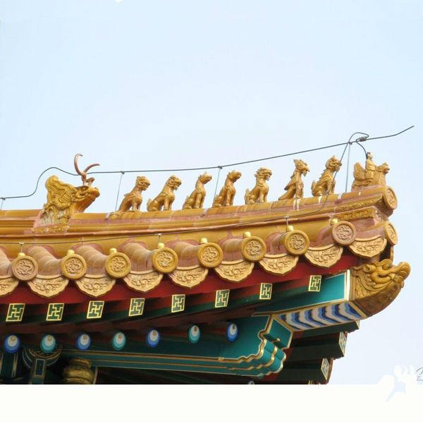 shunfa shunfa sf g001 chinese antique roofing decoration