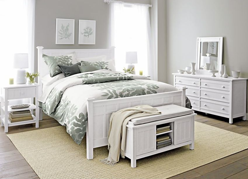 Pottery Barn bedroom set  For the Home  White bedroom