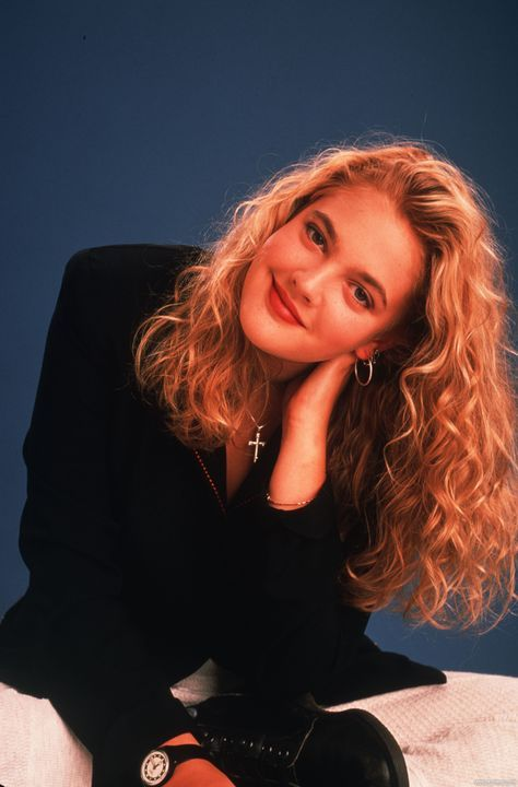 Photo of Drew Barrymore by Mark Sennet. Published on ';Hello!'; magazine February 10th 19…