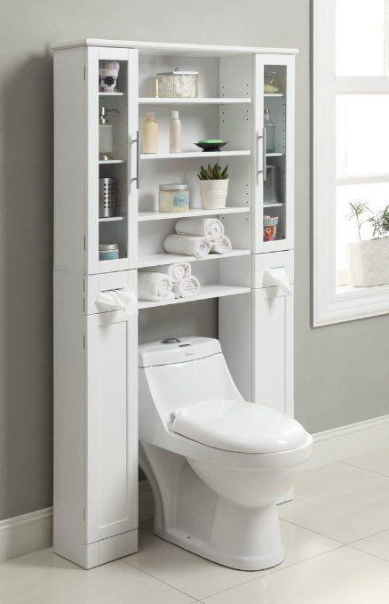 Mainstays 3 Shelf Bathroom Over The Toilet Space Saver With Liner Oil Rubbed Bronze Walmart Com Bathroom Space Saver Bathroom Organisation Toilet Shelves