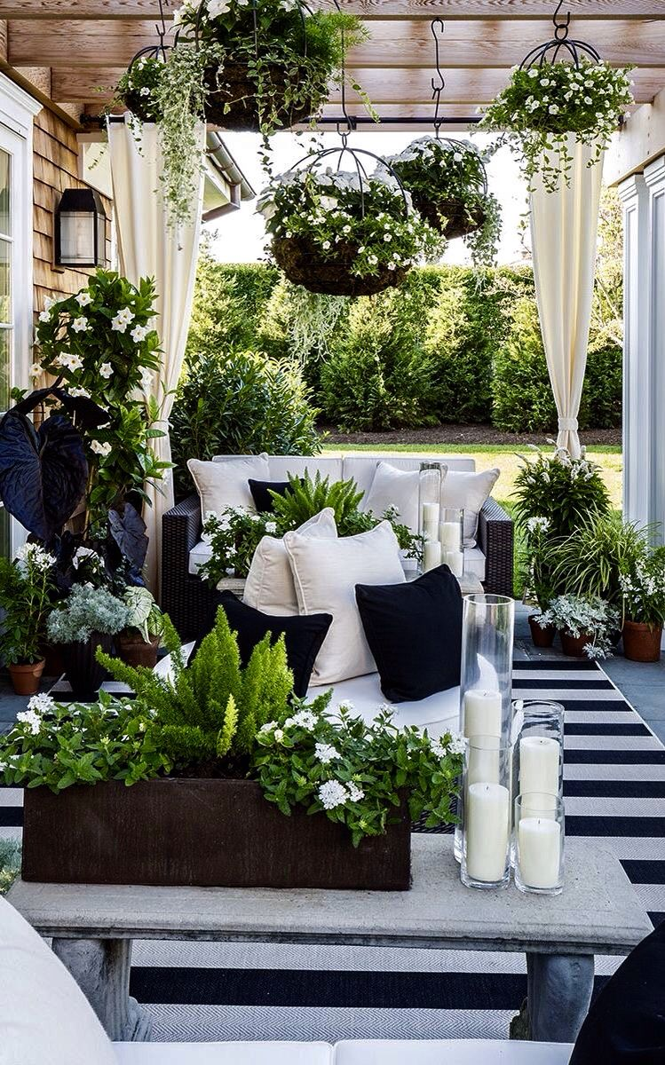 Balcony gardening living small condo owners utilize outdoor space - Use Our Resort Stripes Outdoor Rug To Enliven An Outdoor Space With Bold Balanced Colors And Design That Beautifully Accents Any Furniture Collection