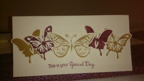 Loving the new butterfy stamp from ctmh