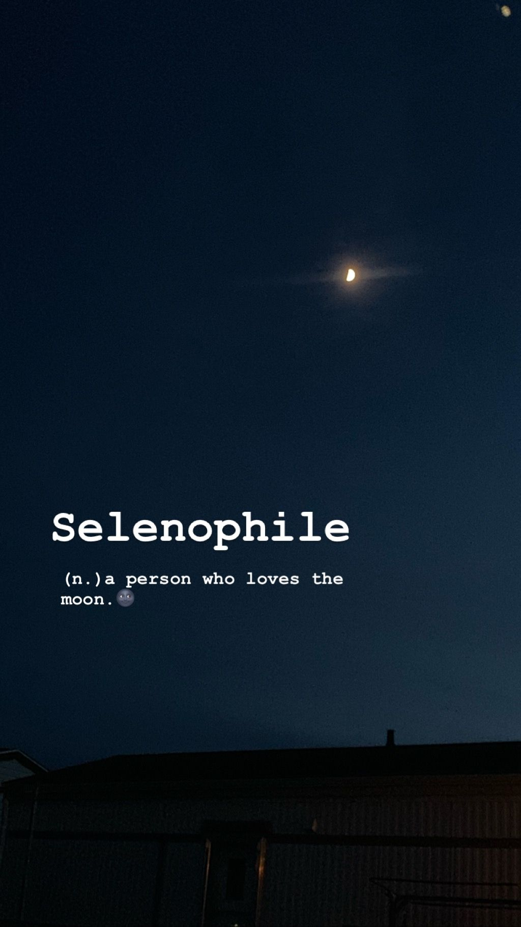 Selenophile Unusual Words Phobia Words Rare Words