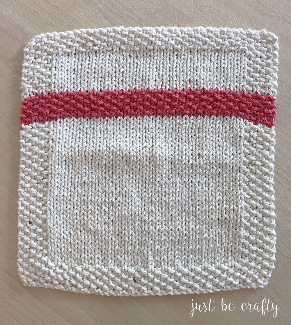 Seed Stitch Stripe Dishcloth Pattern | Future projects | Pinterest ...