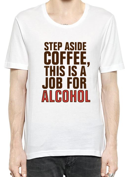 Step Aside Coffee T Shirt For Men #Herrenschuhe #Navy