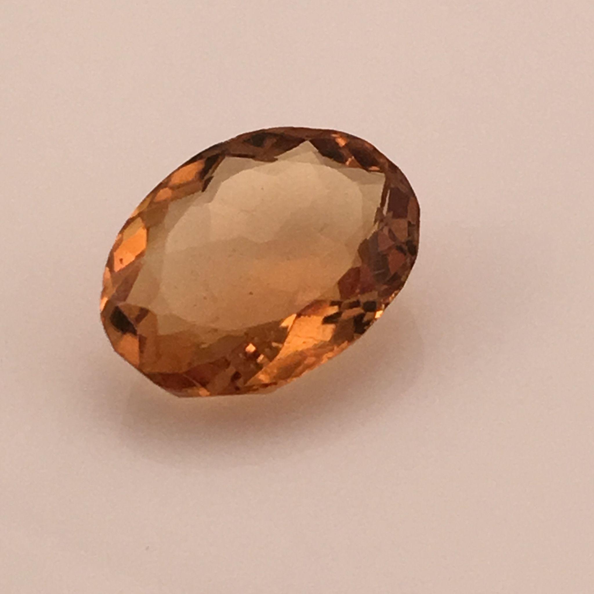 6.1 carat African Fire Citrine Gemstone Citrine gemstone