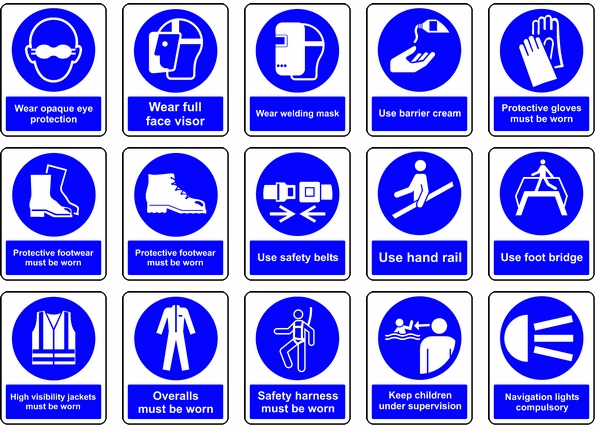Pin by Nulite on Safety Signs Industrial safety