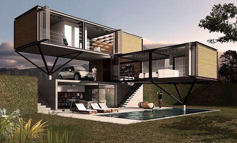 Container Homes Design Ideas