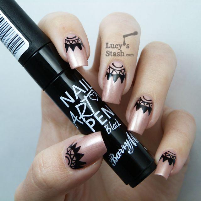Pin by Rachel Ravera on Nail art | Nails, Nail art pen, Barry m nails