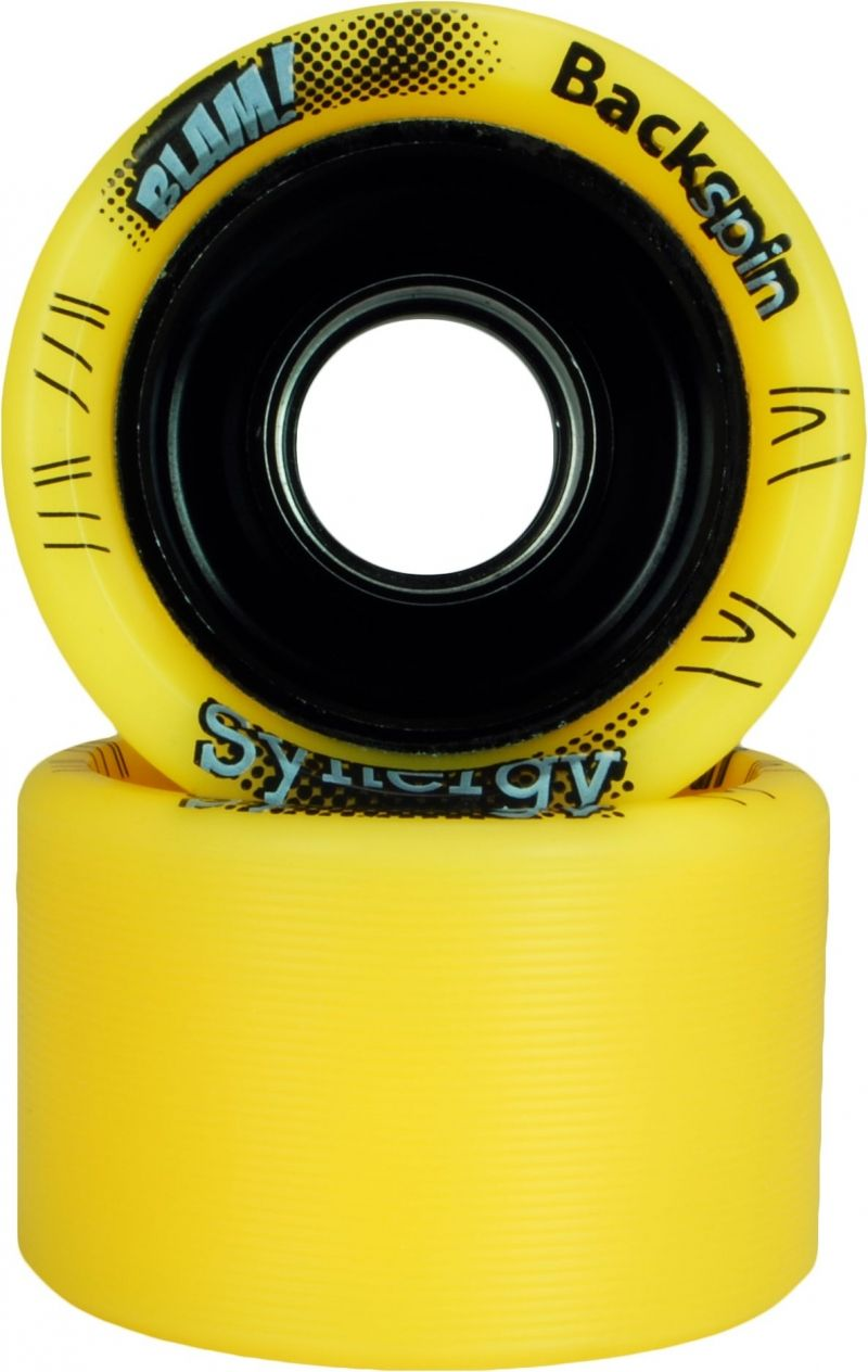 Backspin Synergy 97A 59mm X 38mm Yellow with black