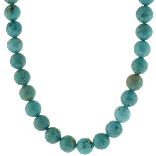 Sterling Silver and 12mm Bead Necklace, 22 - Listing price: $100.00 Now: $36.00 + Free Shipping