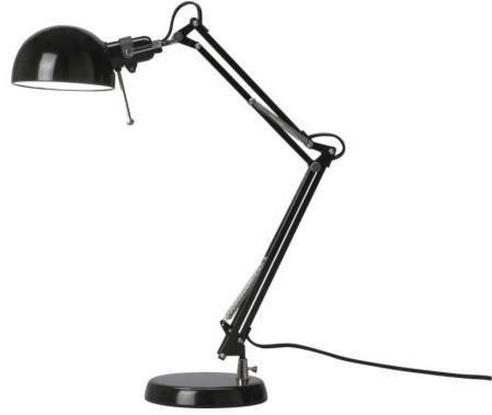 Forså Work Lamp | Ikea desk lamp, Work lamp, Ikea table lamp