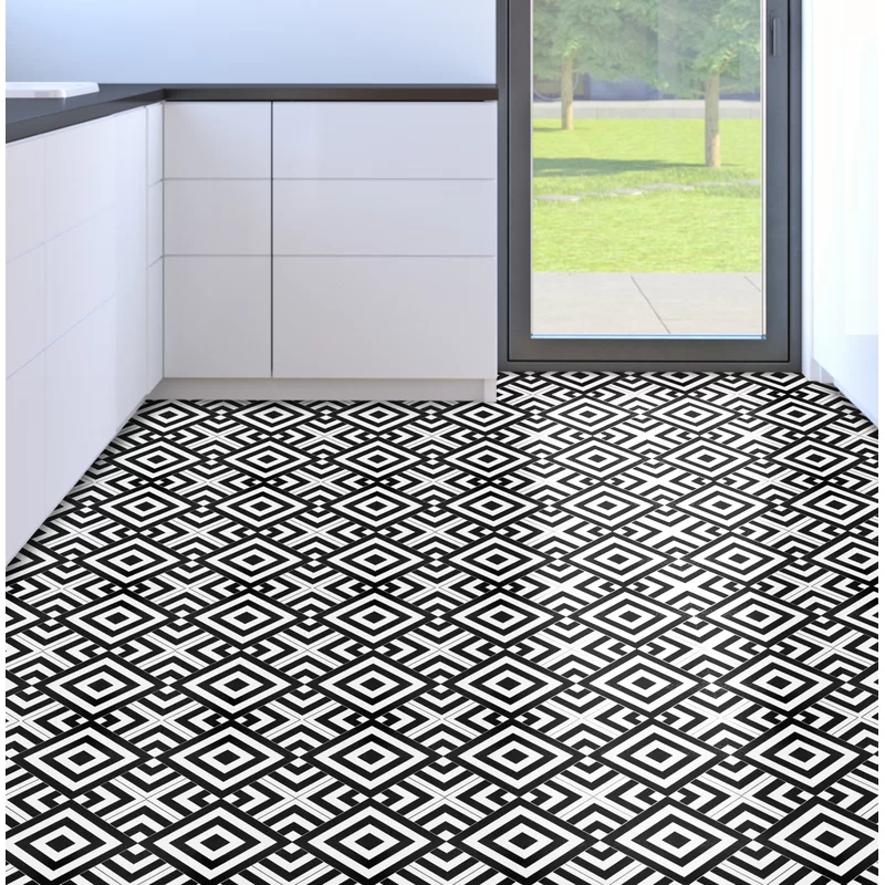 Retro Self Adhesive 12 X 12 X 1 5mm Vinyl Tile In 2020 Luxury Vinyl Tile Vinyl Tile Vinyl Flooring
