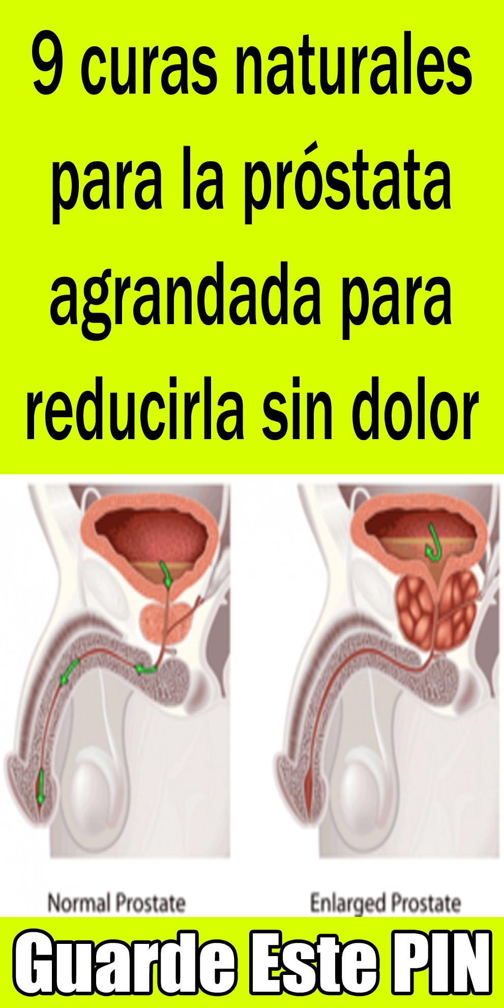 dolor de próstata no agrandado