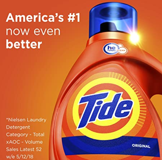 Tide Laundry Detergent Liquid Original Scent He Turbo Clean 64 Loads 100 Oz On Sale For 11 97 If You In 2020 Tide Laundry Detergent Laundry Liquid Tide Laundry