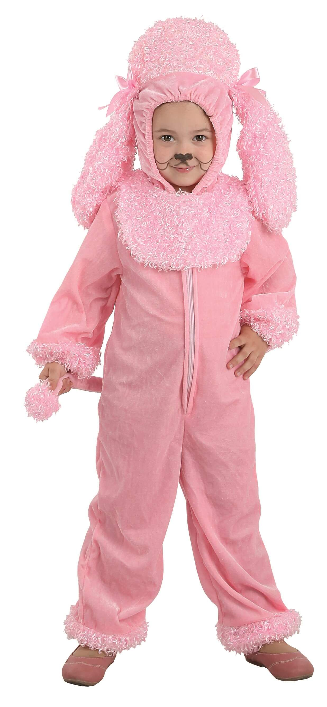 Disfraz de perro caniche rosa para bebé Comprar