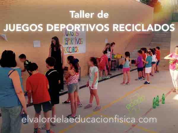 Photo of Juegos deportivos reciclados
