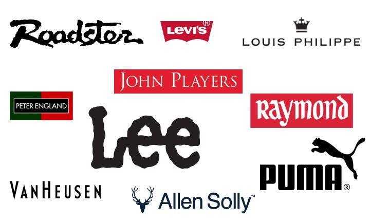 Top 10 shirt brands in india brand pinterest logos for Branded t shirts names