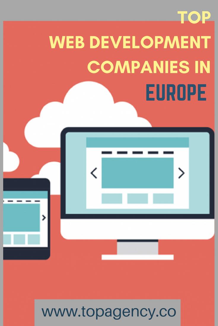Get The Best Web Development Firms Of 2017 In Europe Web Design Packages Website Design Cost Web Design Uk