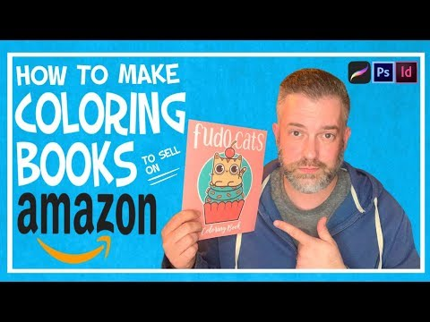 1 How To Make With Your Art Amazon Kdp Coloring Books Youtube Coloring Books Childrens Colouring Book Amazon Coloring Books