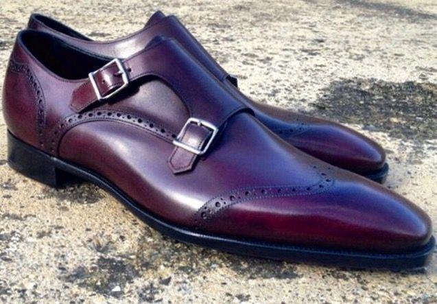 Pin By Madison Pura Vida On Estilo Dress Shoes Men Gentleman Shoes Monk Strap Shoes