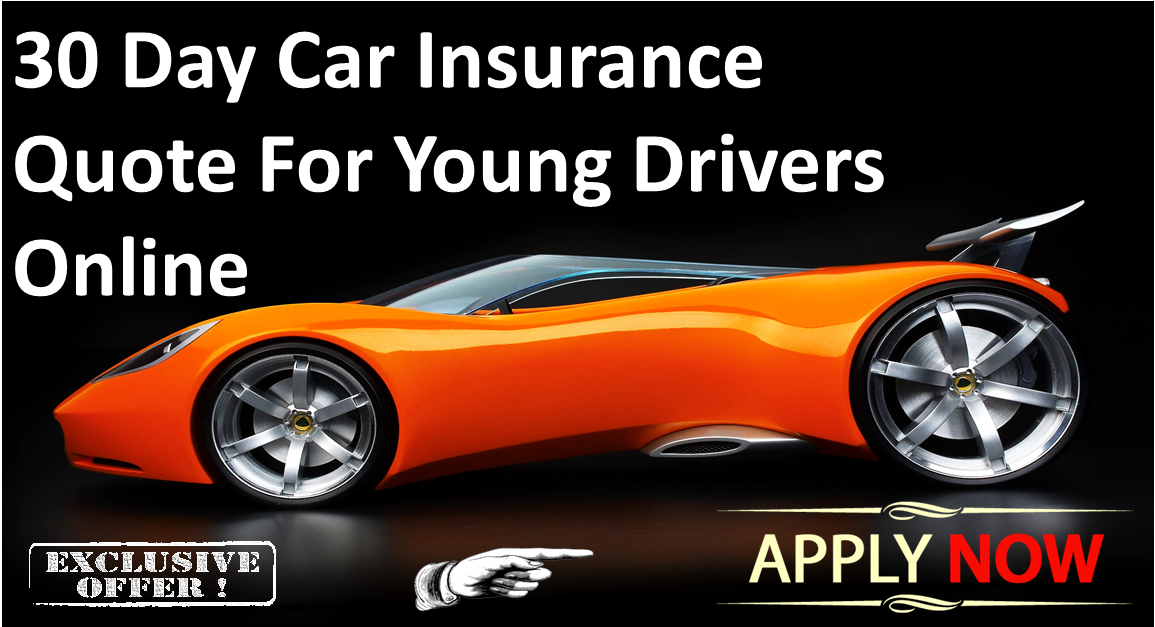 30 Day Car Insurance For Young Drivers Driver online