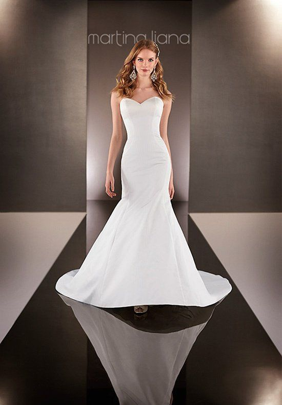 Martina Liana - 621 -wedding dress. Find this sample dress and more ...