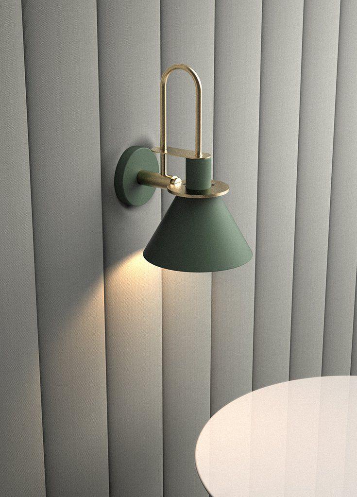 Brass Trumpet Modern Wall Light in 2020 Wall sconces