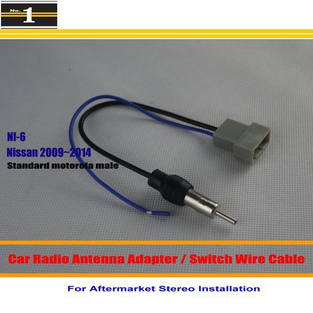 For Nissan Rogue Rouge Sentra Tiida Titan Tsuru Car Radio Antenna Adapter Antenna Wire Standard Motorola M Car Radio Antenna Radio Antenna Car Electronics