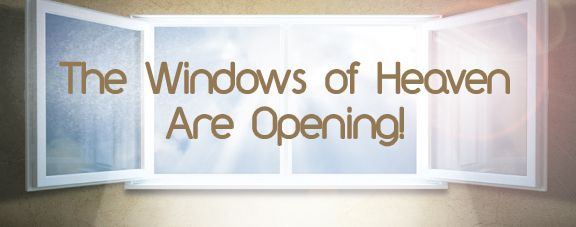 Lord, open the windows of heaven!- A lyrical poem.