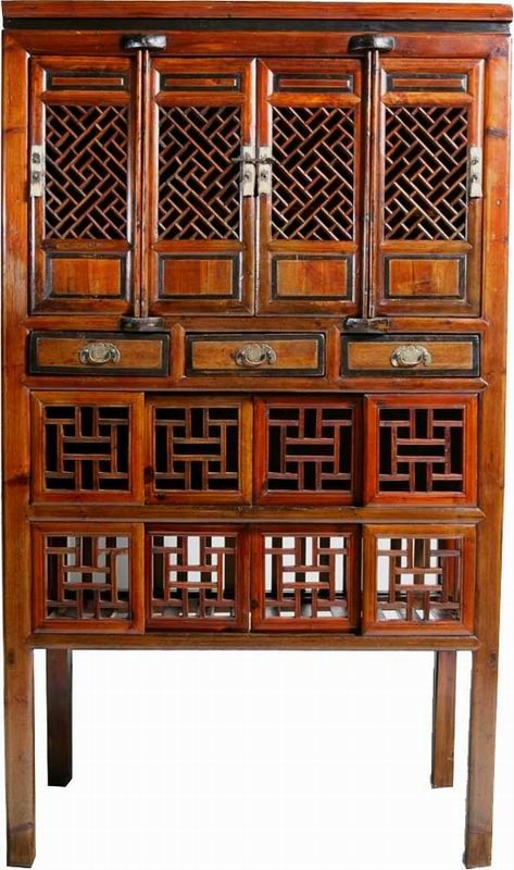 A1S0318 Chinese Antique Vegetable Cabinet - A1S0318 Chinese Antique Vegetable Cabinet Furniture I Like