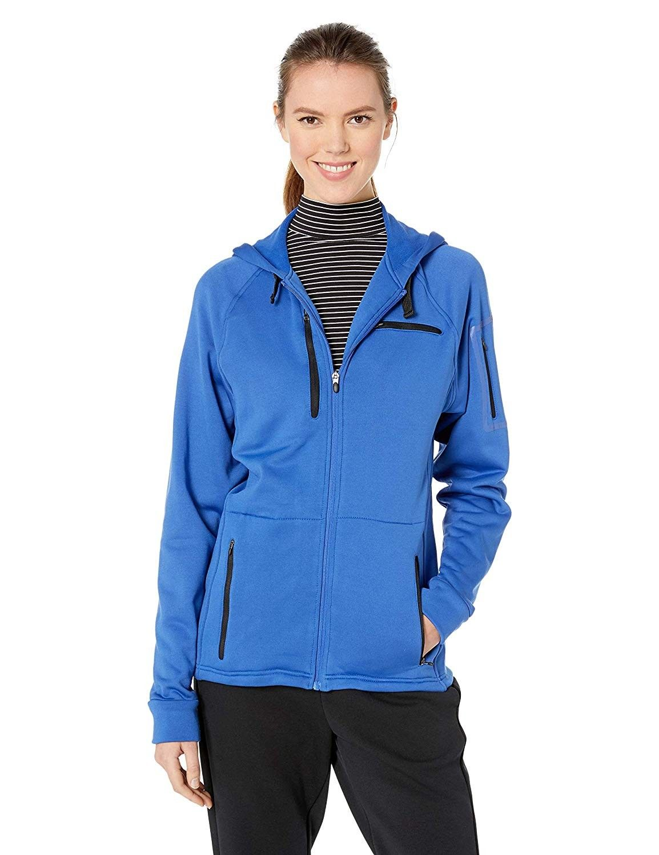 Women's 314 Hooded Fleece Zip-Up Sweatshirt - Royal Blue - C4128QK984B - Sports & Fitness Clothing,...