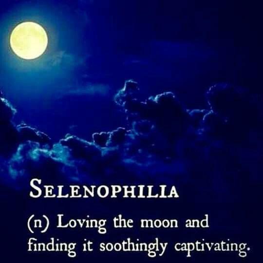 ....da' selenophilia....