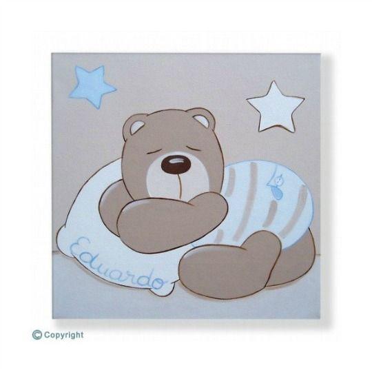 Letras decorativas para beb s cuadro decoracion pared y - Cuadros habitaciones infantiles ...