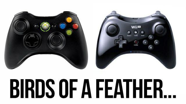 Deja-vu? Wii-U and Xbox 360 Controller