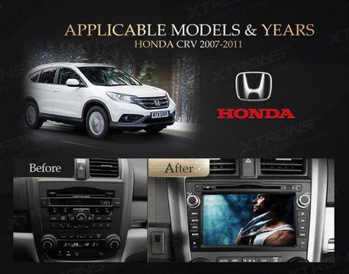Autoradio-para-Honda-CRV-8-pulgadas-con-GPS-y-3G-Modelos-Compatibles