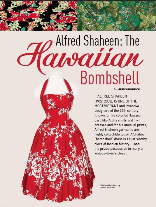 0fa2a588168 Gertie's New Blog for Better Sewing Alfred Shaheen Hawaiian halter ...