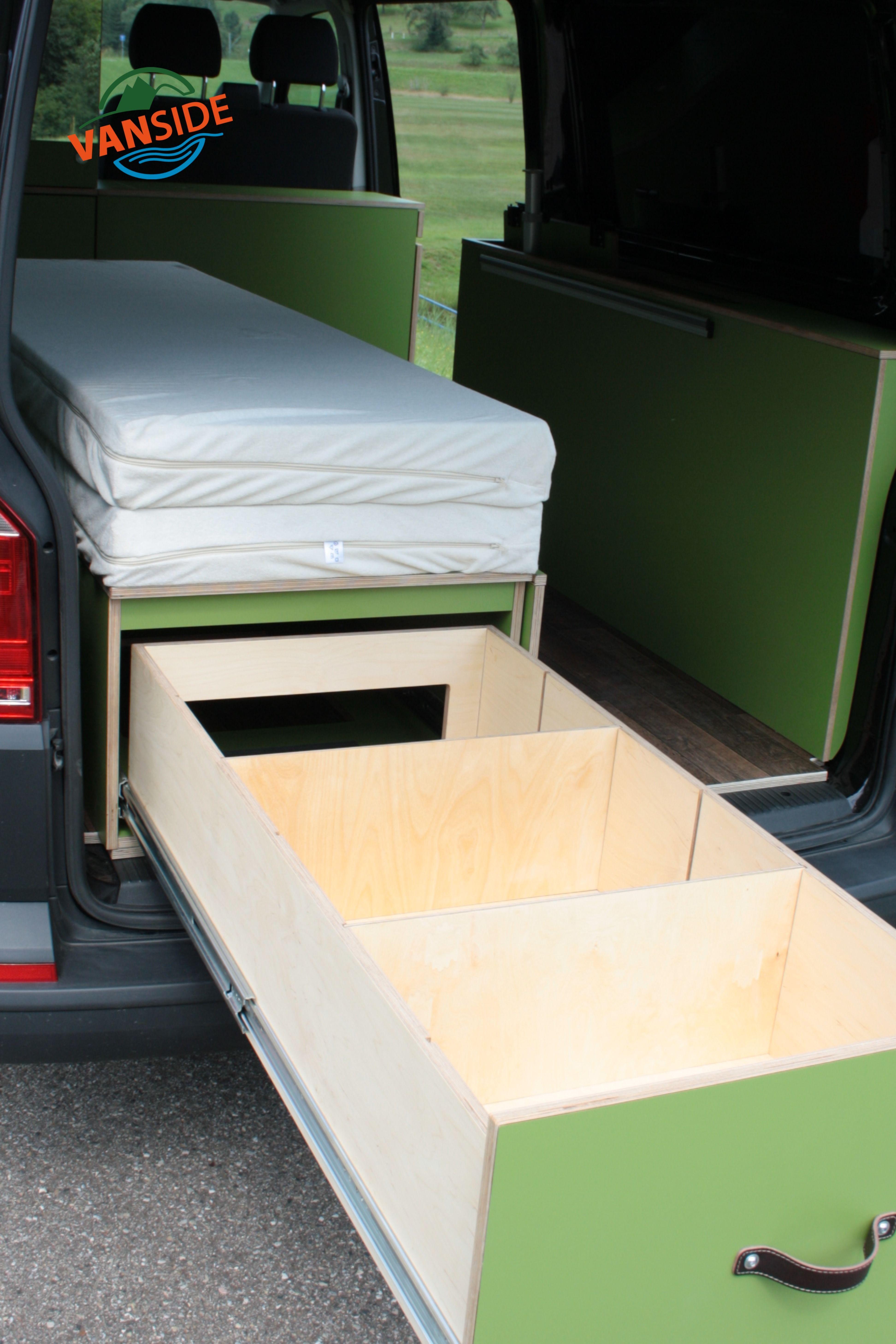 Photo of Camper Modul Doppelbett