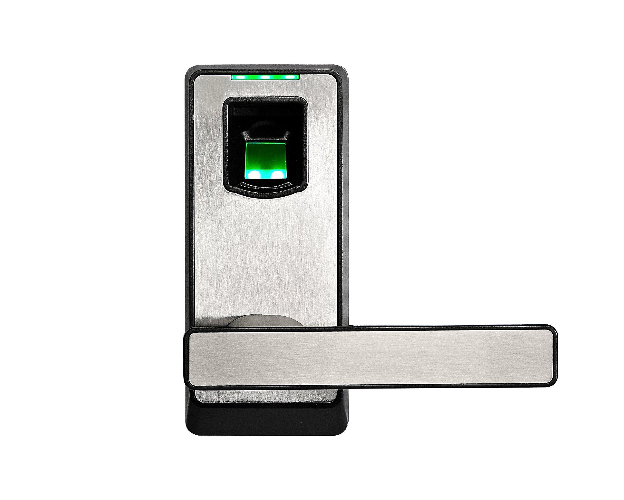 2016 New Arrival Zkteco Bluetooth Biometric Door Lock Keyless Home Entry With Your Smartphone Amp Fingerprint Com Imagens Invencoes Tecnologia