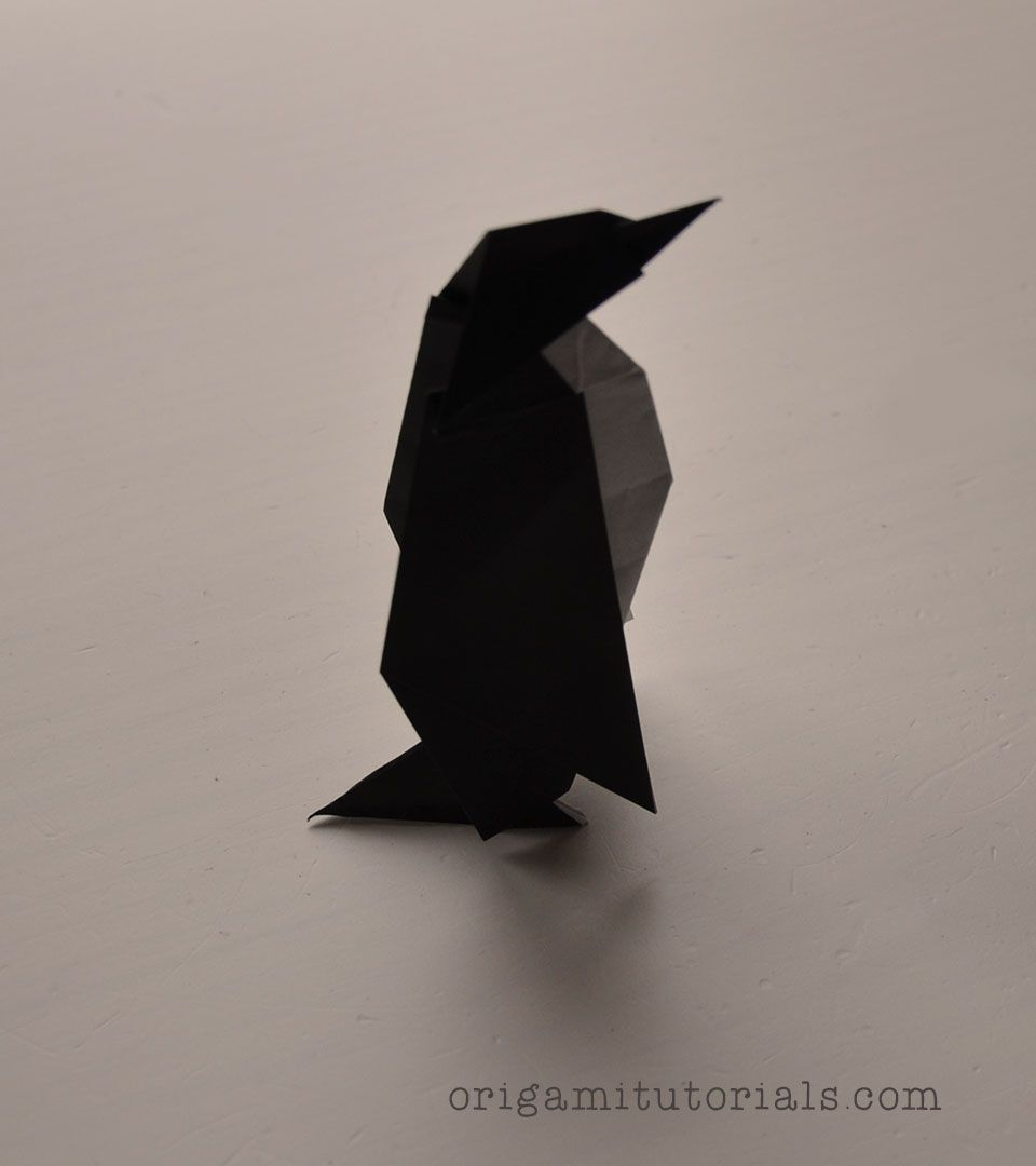 Origami penguin by robert lang origamitutorials origami origami penguin by robert lang origamitutorials jeuxipadfo Image collections