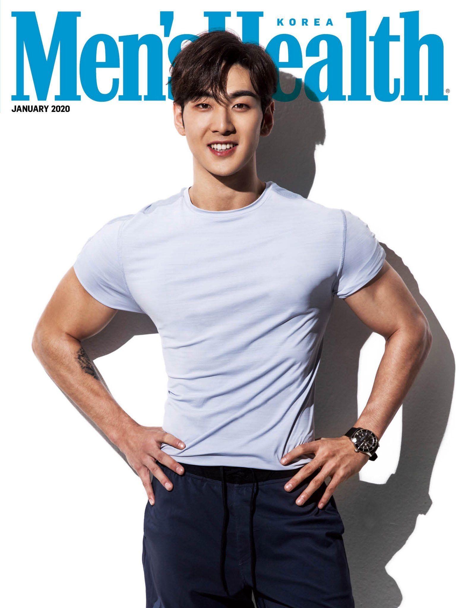 NUEST | BAEKHO | Mens health magazine, Men's health, Workout routine for men