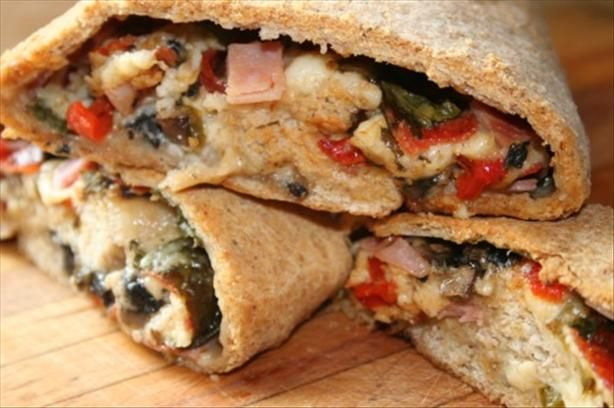 Stromboli - It's what's for dinner!  Tonight! :)  -mb