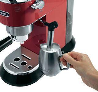 Arab Mall مول العرب ماكينه صنع القهوه سبرسو ديلونجي ديديكا صانعة قهوة احمر Ec680 R Espresso Machine Espresso Coffee