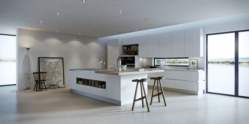 Galleria Foto Cucine Moderne In Stile Nordico Foto 1 Progetti Di Cucine Cucine Moderne Sala Da Pranzo E Cucina