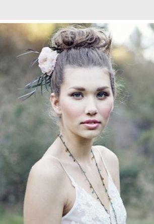 elegant, bohemian, hair, make-up, boho, hippie, all