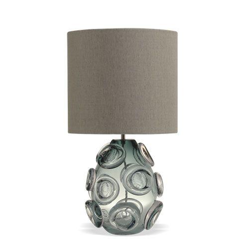 Lens Lampe Porta Romana Fiume Mit Seidenschirm Beige Lampen