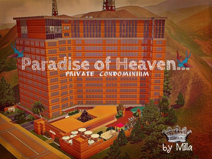 Paradise of Heaven - Private Condominium by Milla - Sims 3 Downloads CC Caboodle