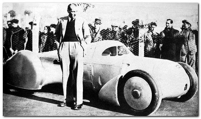Dieselpunk: 1935 Auto Union Rekordwagen Typ Lucca