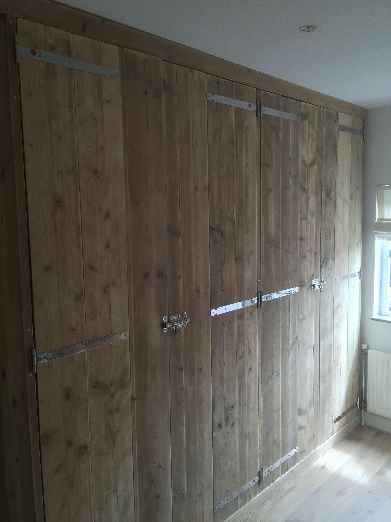 Wandkast Voor Kleding.Kleding Kast Steigerhout Pristupova Cesta Home Home Decor En