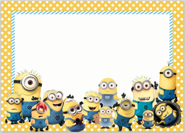 picture relating to Minions Printable Invitations titled Picture consequence for minion invites Minion Birthday invite